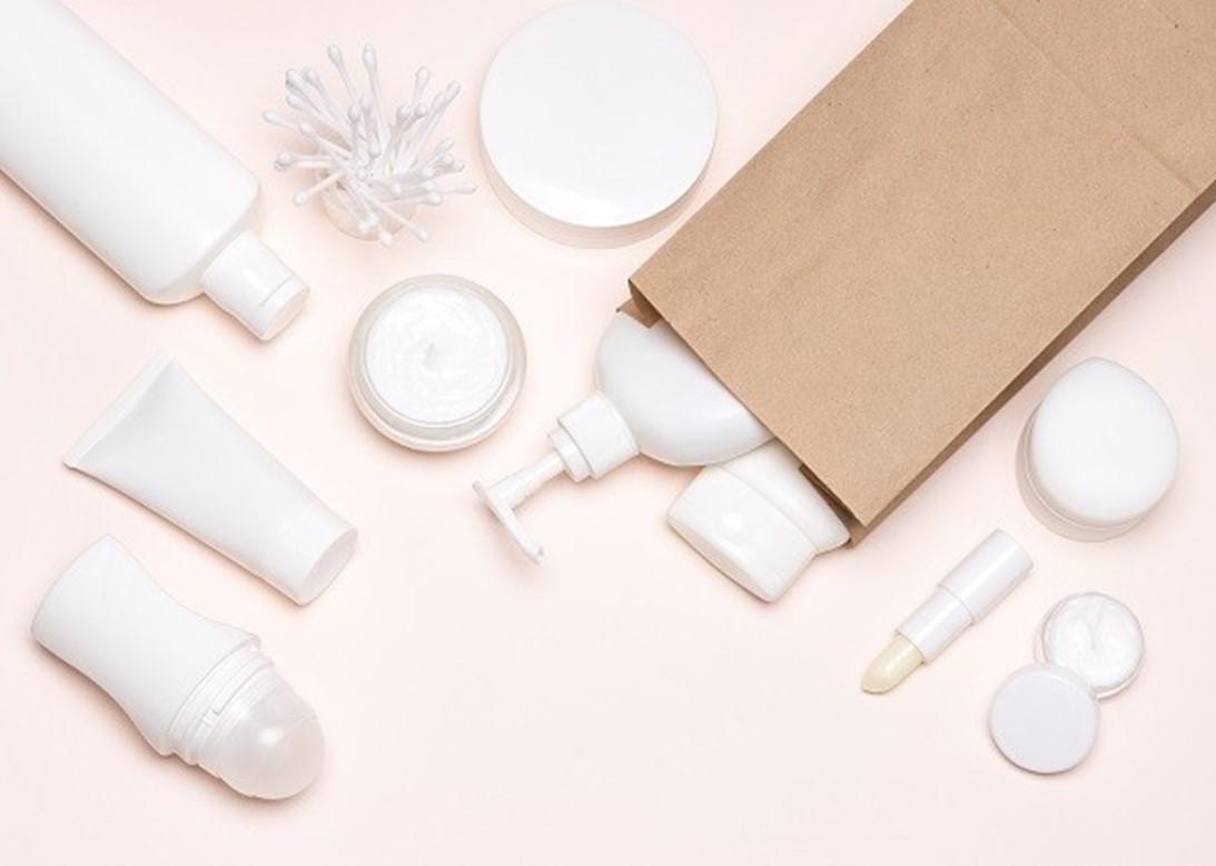 packaging di prodotti cosmetici