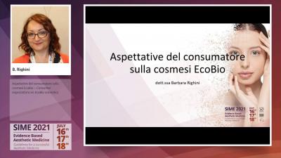 Aspettative del consumatore sulla cosmesi EcoBio - dott.ssa Barbara Righini
